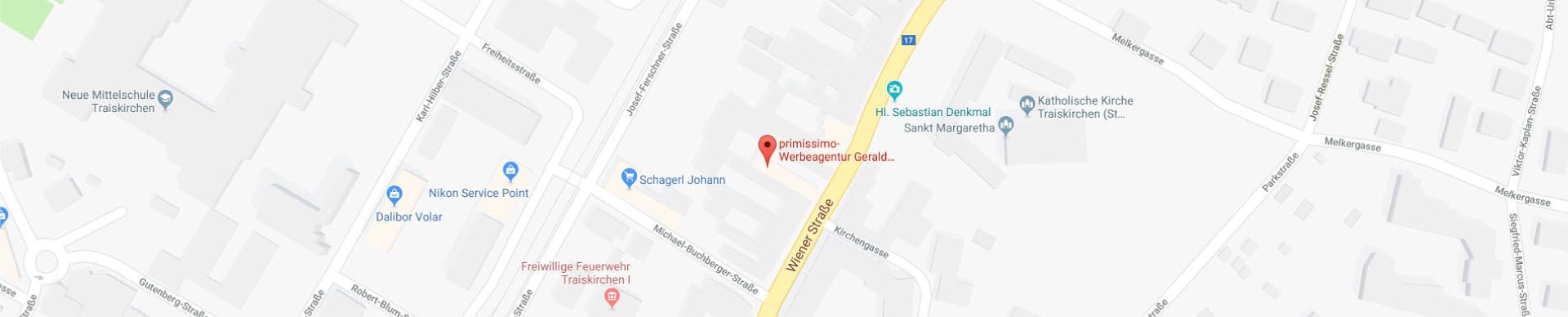 Primissimo auf GoogleMaps