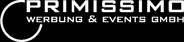 Logo - primissimo werbung & events GmbH