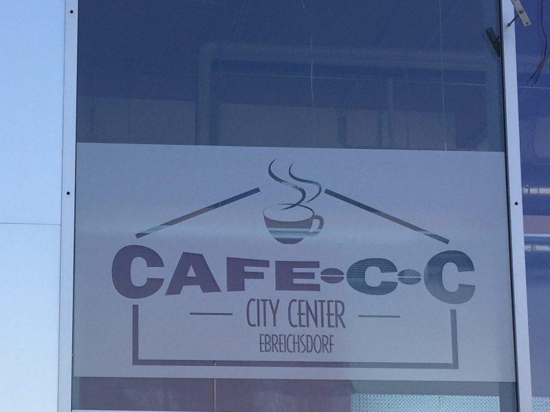Gebäudefolierung - Cafe CC